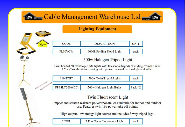 Lighting Equipment