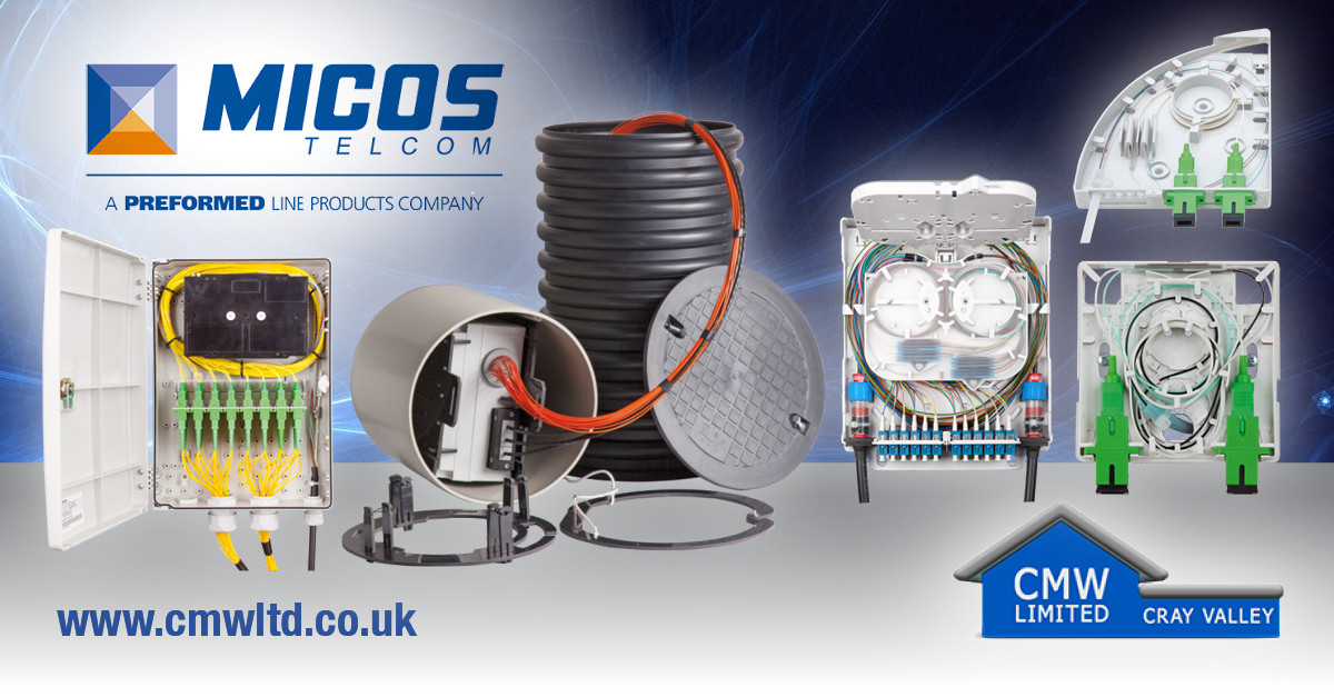 CMW Signs a Distribution Deal with Micos Telcom for FTTx and Fibre Optic Solutions