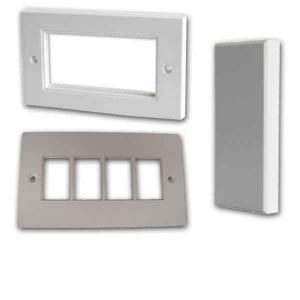 Faceplates, Adaptors & Blanks