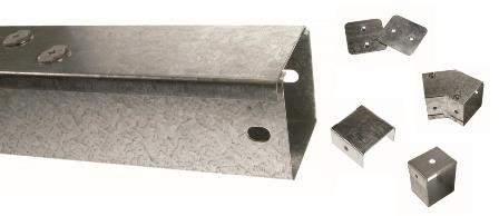 Galvanised Box Trunking & Accessories