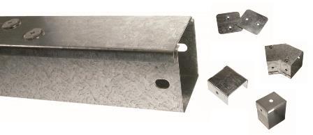 Galvanised Box Trunking & Accessories