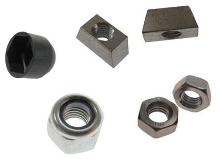Nuts, Wedge Nuts & Dome Caps