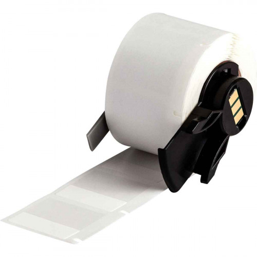 cable labels | Brady PTL-19-427 Self-laminating Vinyl Labels for M611, BMP61 and BMP71 - B-427 - 25.40 mm x 25.40 mm - White