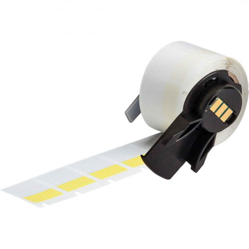 | Brady PTL-18-427-YL Self-laminating Vinyl Labels for M611, BMP61 and BMP71 - B-427 - 19.05 mm x 25.40 mm - Yellow
