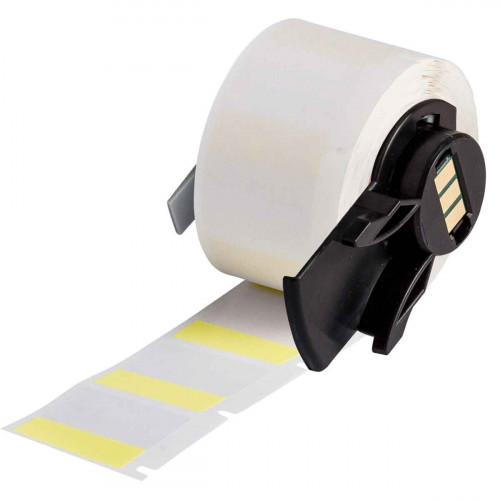 | Brady PTL-19-427-YL Self-laminating Vinyl Labels for M611, BMP61 and BMP71 - B-427 - 25.40 mm x 25.40 mm - Yellow