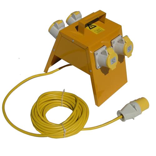 CMW Ltd  | Faithfull TLDB4L 110 Volt Distribution Box 4 Way