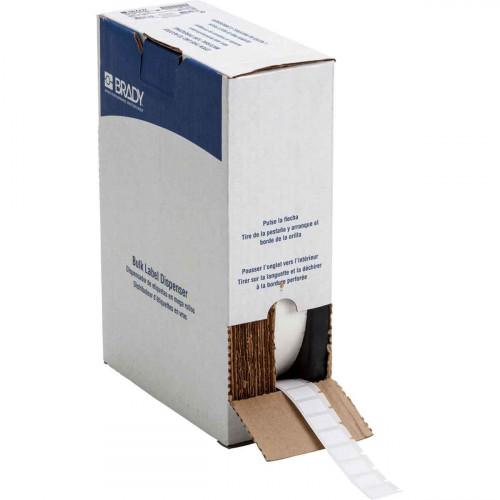 cable labels | Brady BM71-11-499 Bulk Nylon Cloth Labels for M611, BMP61 and BMP71 - B-499 - 19.05 mm x 12.70 mm - White