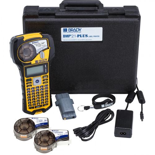 CMW Ltd Labelling Machines | Brady BMP21-PLUS Electrical Kit UK BMP21-PLUS Label Printer - Electrical Printer Kit - UK