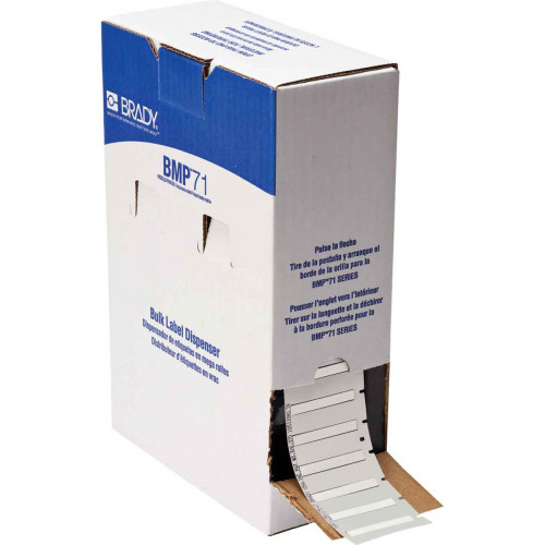 CMW Ltd  | Brady BM71-125-175-7641 BMP71 Low Smoke Halogen Free Permasleeves - B-7641 - 44.83 mm x 6.00 mm - White