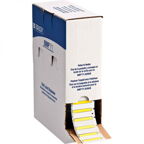 CMW Ltd    Brady BM71-125-175-7641Y BMP71 Low Smoke Halogen Free Permasleeves - B-7641 - 44.83 mm x 6.00 mm - Yellow