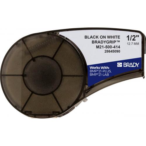CMW Ltd    Brady M21-500-414 Plus Series BradyGrip Print-on Hook Material featuring VELCRO Brand Hook 12.7mm