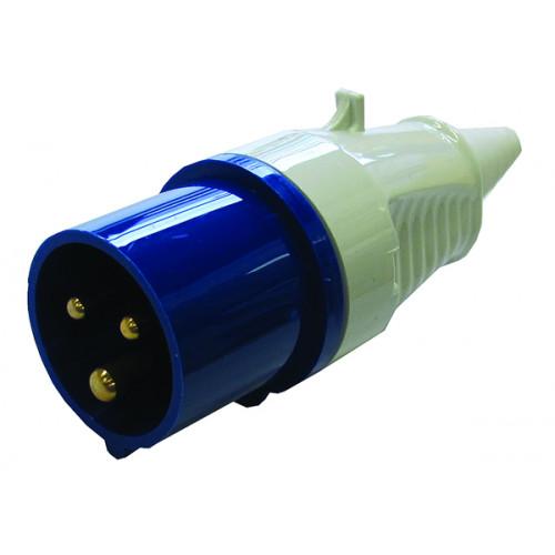 IEC60309 240v  Male 16A Commando Plug (Each)