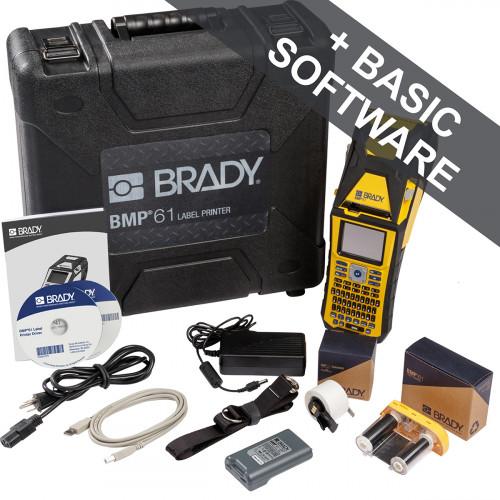 CMW Ltd Cable Label Printer | Brady BMP61-QWERTY-UK-W BMP61 Label Printer - QWERTY UK with wifi