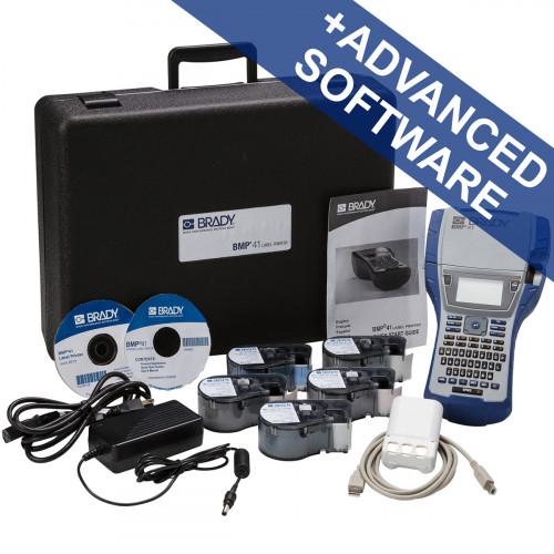 CMW Ltd Labelling Machines | Brady BMP41-UK-PWID BMP41 Label Printer - UK with Brady Workstation PWID Suite