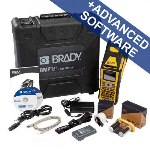 CMW Ltd Labelling Machines | Brady BMP61-QY-UK-PWID BMP61 Label Printer - QWERTY UK with Brady Workstation PWID Suite