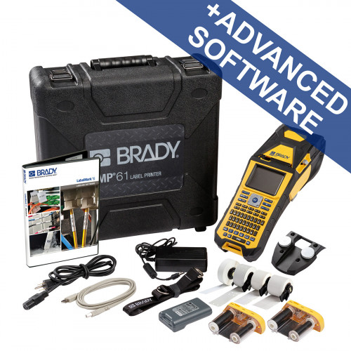 CMW Ltd Labelling Machines | Brady BMP61-QY-UK-DATA BMP61 Label Printer - Voice- and Datacom kit - QWERTY UK with wifi