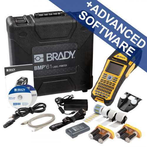 CMW Ltd Labelling Machines | Brady BMP61-QY-UK-ELEC BMP61 Label Printer - Electrical kit - QWERTY UK with wifi