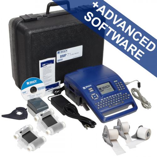 CMW Ltd Labelling Machines | Brady BMP71-QY-UK-DATA BMP71 Label Printer - Voice- and Datacom Kit - QWERTY - UK