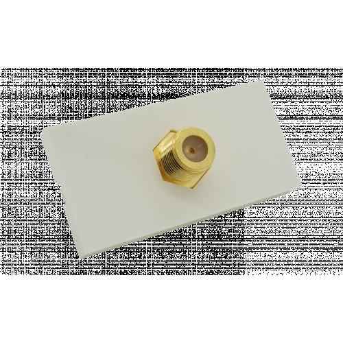 CMW Ltd  | Matrix EURO 50x25  1 x F Type Module- White