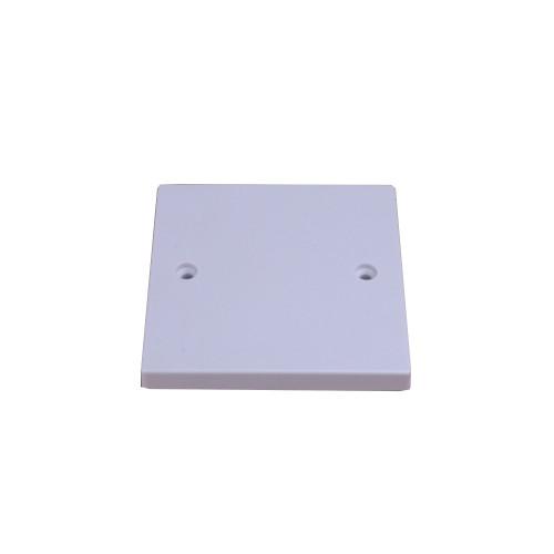 SN8350  | White  Single Gang Blank Plate