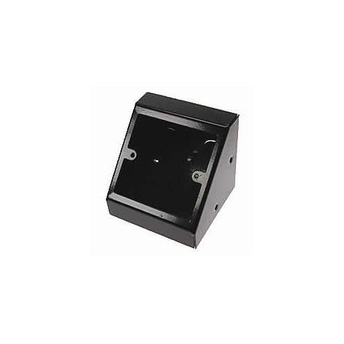 TASS PB001B | Single Gang Black Pedestal Power - Data Outlet Unit