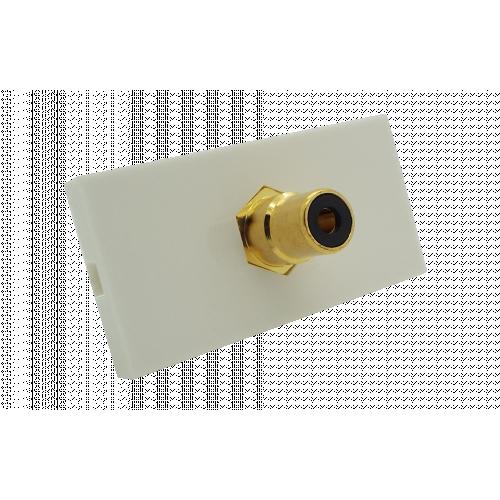 CMW Ltd  | Matrix EURO 50x25 RCA Black Module- White