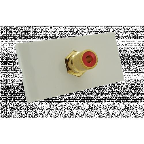 CMW Ltd  | Matrix EURO 50x25 RCA Red Module- White