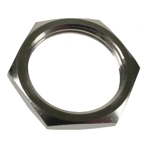 CMW Ltd  | 20mm Brass Nickel Plated Locknut