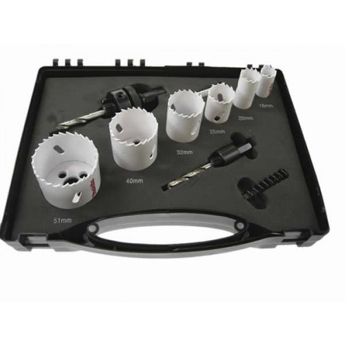Faithfull FAIHKSE Bi-metal Holesaw Kit 6 Piece (Each)