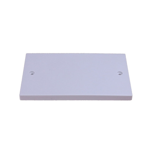 CMW Ltd  | White  Double Gang Blank Plate
