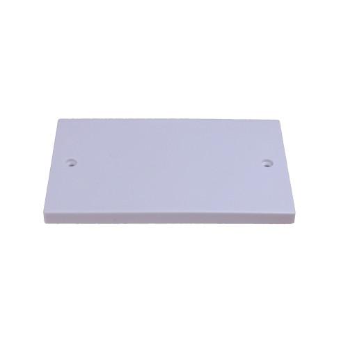 CMW Ltd    White  Double Gang Blank Plate