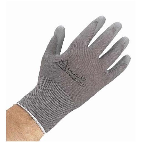 CMW Ltd  | size 9 PU Coated Nylon Gloves Medium (Per/pair)