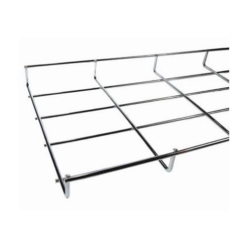 CMW Ltd  | Under Desk Cable Basket Tray  1.2m 100mm Wide x 30mm Deep BZP Finish (1.2m lgth)