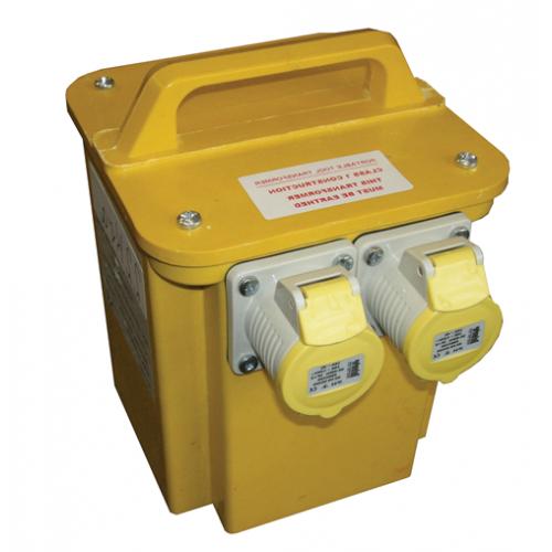 CMW Ltd  | Faithfull TRAN33A 110v Power Plus Transformer 3.3kva Dual Socket