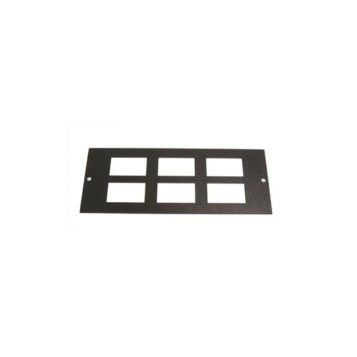 TASS ST0306 | 3 Compartment Floor Box 6 way LJ6C Data Plate Light Grey 185mm x 76 mm