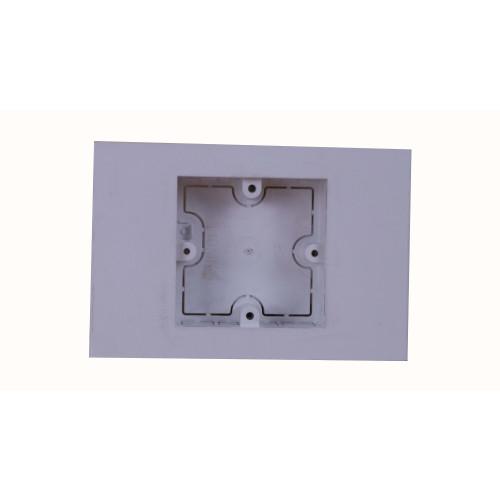 Univolt MIB60/150 | Dietzel Univolt Single Gang PVC for 150 x 150mm Maxi Trunking White Accessory Box 28mm depth