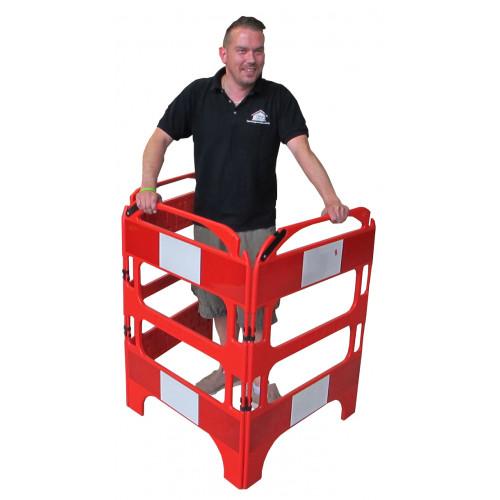 CMW Ltd  | 3 Gate Safety Barrier System