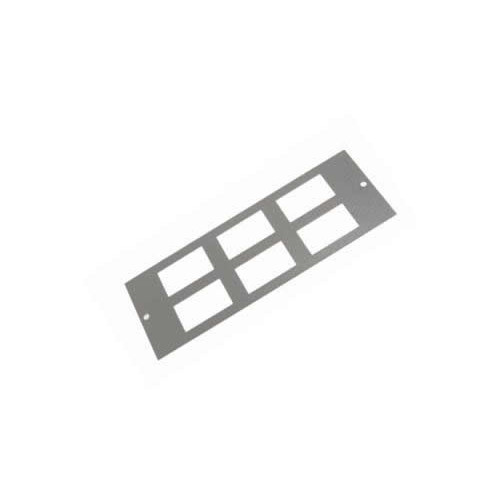 TASS ST0280 | 4 Compartment 6 way LJ6C Data Plate Light Grey 185mm x 67 mm
