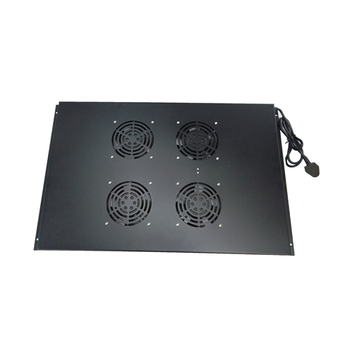 4 Way Fan Tray for 600mm Deep Matrix Server Rack- Black (Each)