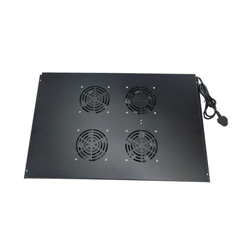 4 Way Fan Tray for 800mm Deep Matrix Server Rack- Black (Each)