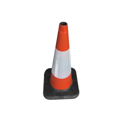 "500mm  20""  Road Traffic  Cone Thermoplastic (Each)"