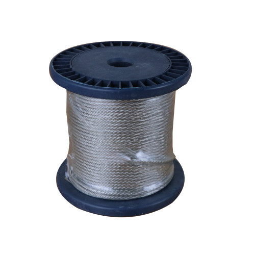 CMW Ltd Catenary wire Cable fixing kit | 3mm Catenary Wire Rope 50m Coil
