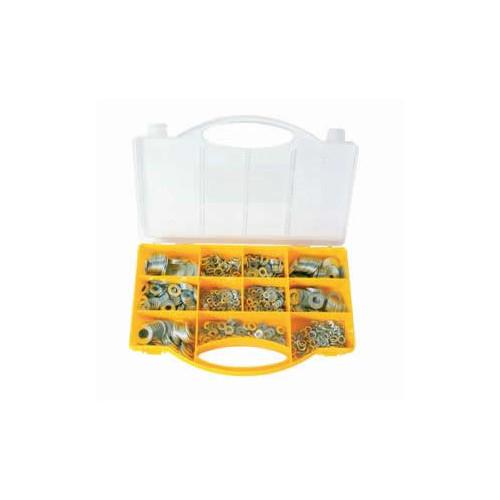 CMW Ltd  | Assorted Steel Washer Pack M3 to M12 1000 pcs