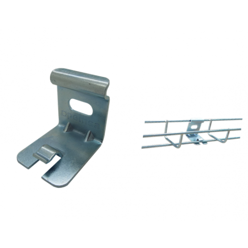 Pemsa 62016021 | Pemsa Rejiband Electrogalvanised Wire Basket Tray Silver Light Duty Wall Support