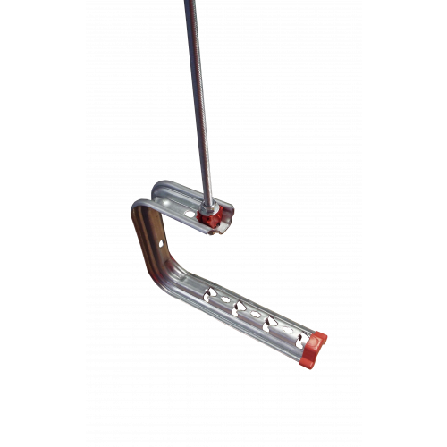 Pemsa 62022104 | Pemsa Rejiband Omega SPLUS 100mm Wire Basket Tray Ceiling Bracket