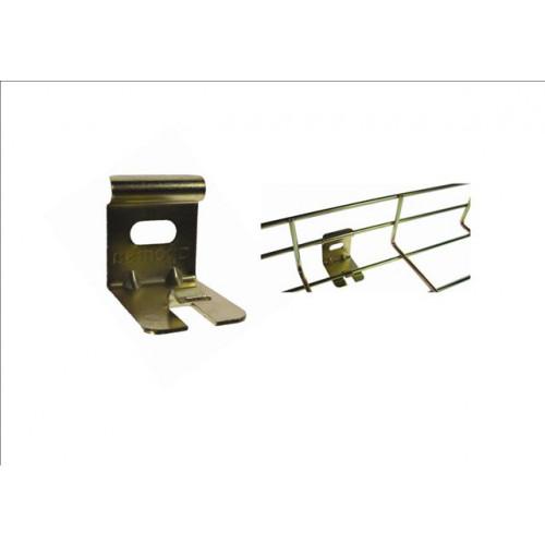 Pemsa Rejiband Bi-chromate Light Duty Wire Basket Tray Wall Support Brackets (Each)