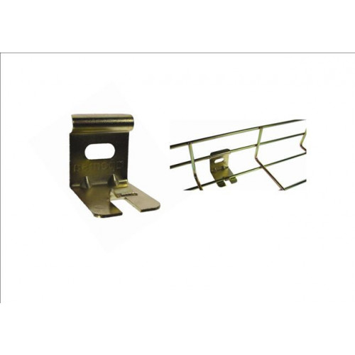 Pemsa 62026021 | Pemsa Rejiband Bi-chromate Light Duty Wire Basket Tray Wall Support Brackets