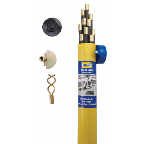 CMW Ltd  | Horobin 47011 Universal Drain Rod Set