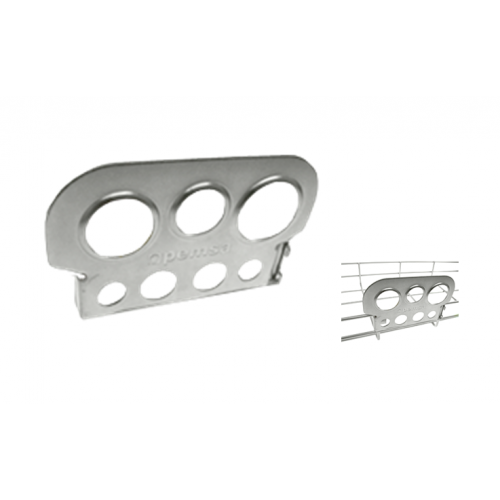 Pemsa 67010040 | Pemsa Rejiband Electrogalvanised Silver Wire Basket Tray Conduit Take-Off Plate 21mm - 26mm - 33mm