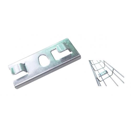 Pemsa 67010043 | Pemsa Rejiband Electrogalvanised Wire Basket Tray Silver Click Central Hanger Plate